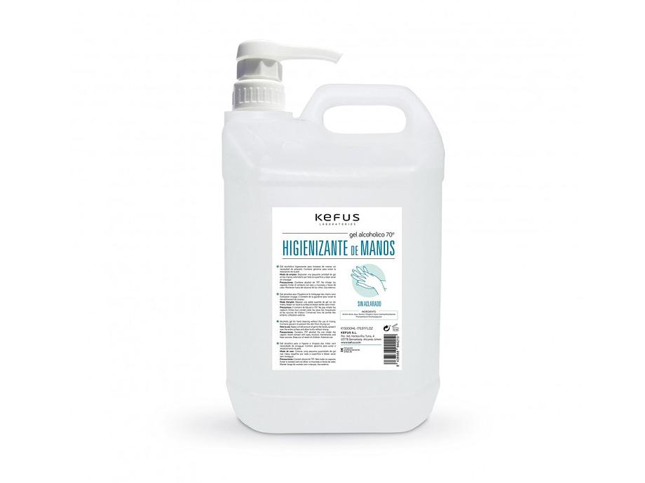 gel alcoholico higienizante 5l